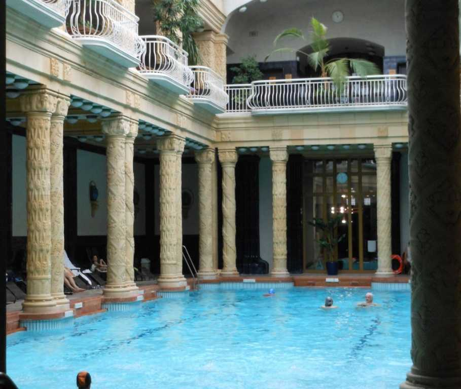 Budapest: taking the waters at Gellert Hotel