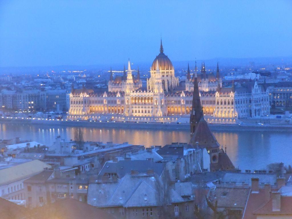 Budapest: the blue Danube