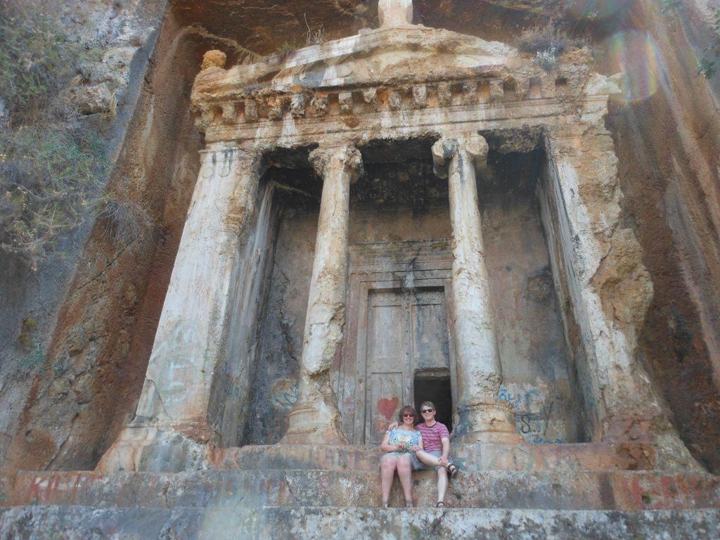 #2 Merhaba Turkey:  Rock tombs in Fethiye