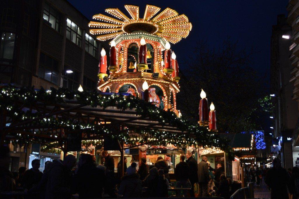 Visting the Birmingham Frankfurt Christmas Market
