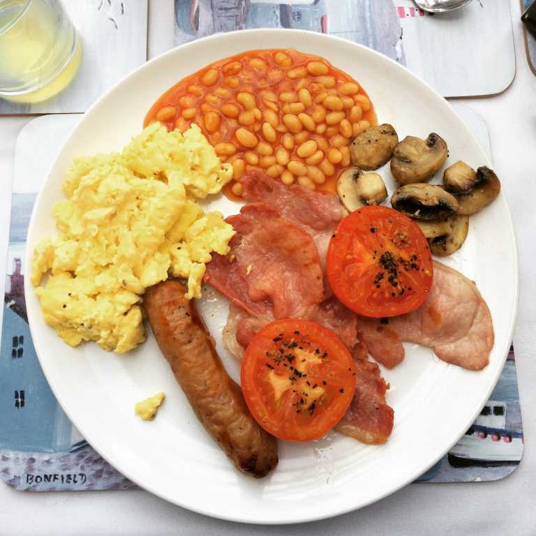 Award-winning breakfasts at Wadebridge B&B, Cornwall