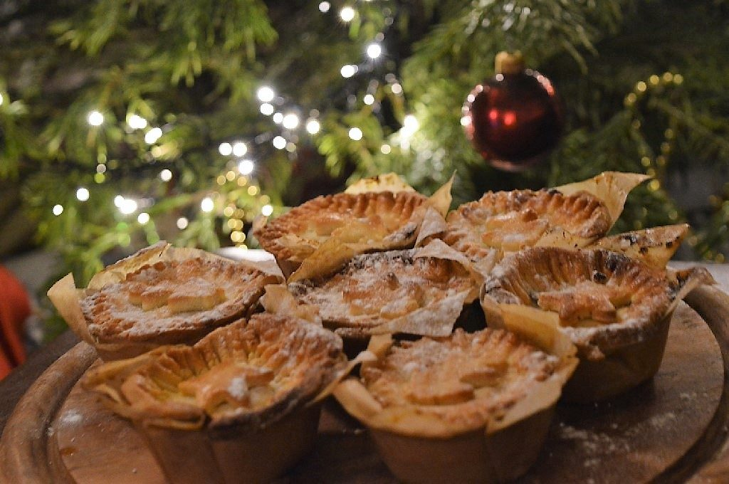 Mince pie master class at Jamie Oliver's Cookery School