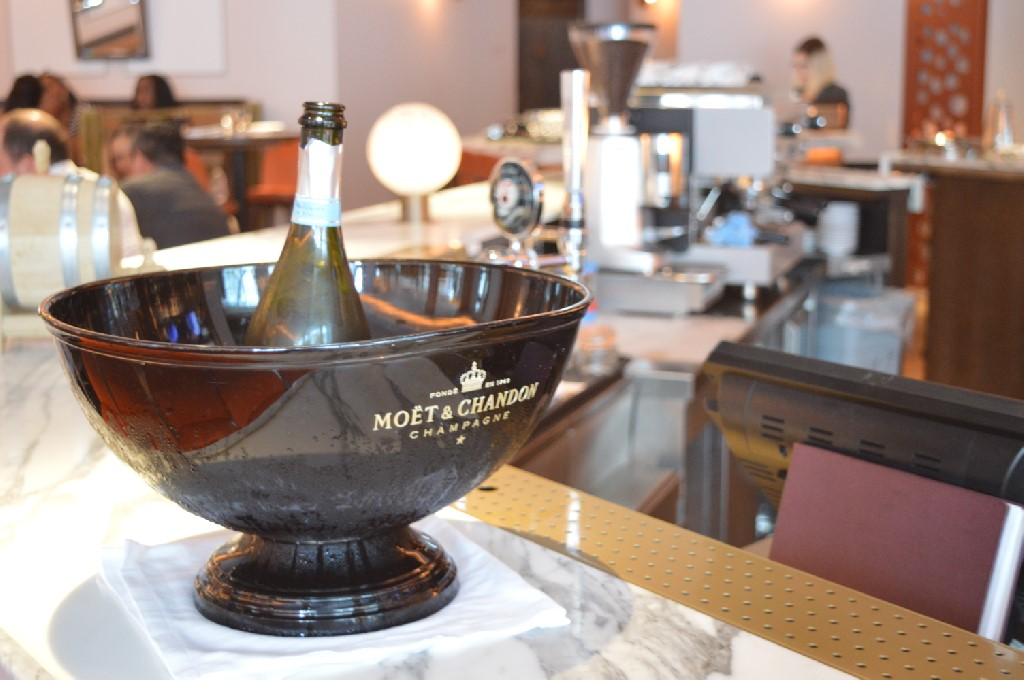 Free-flowing prosecco brunch at Aster Restaurant, London