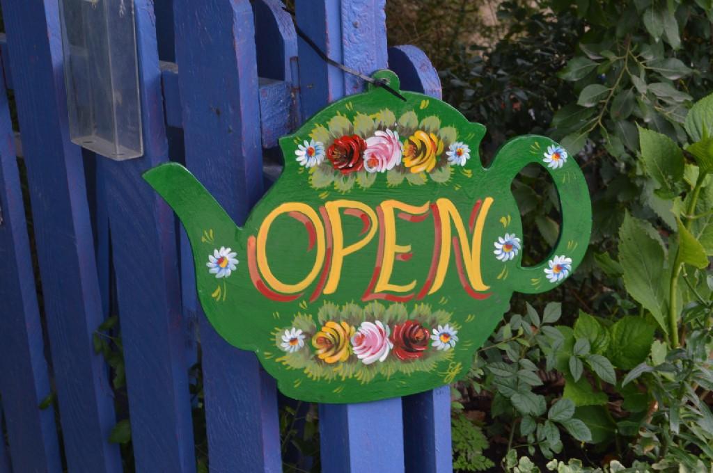 Jane's Enchanted Tea Garden in Kirtlington