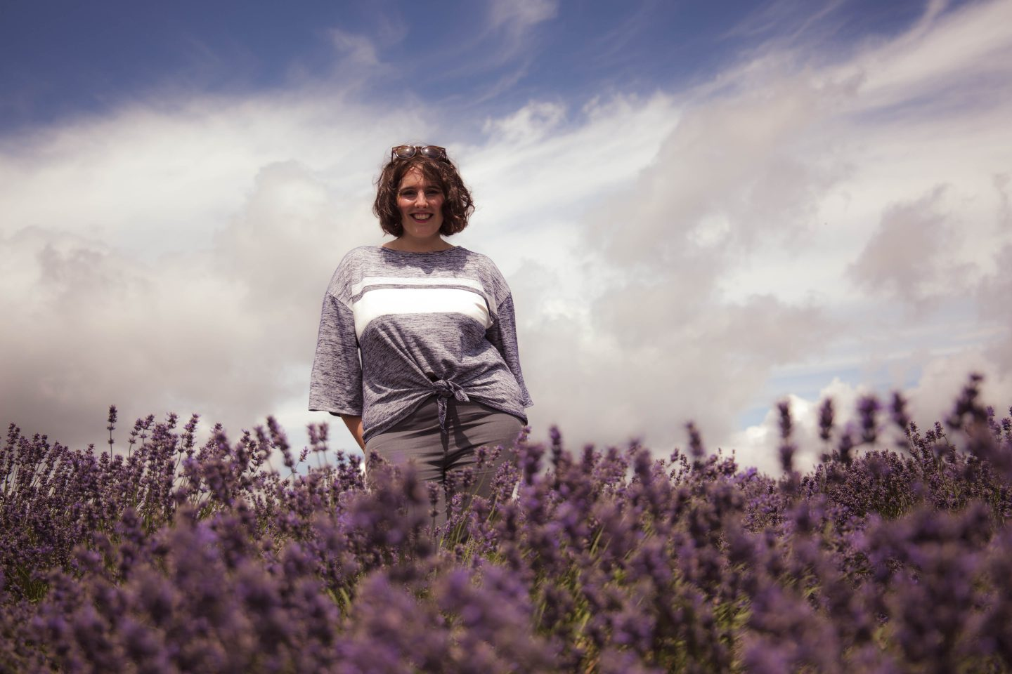Cotswold Lavender with Elizabeth Flower Photography