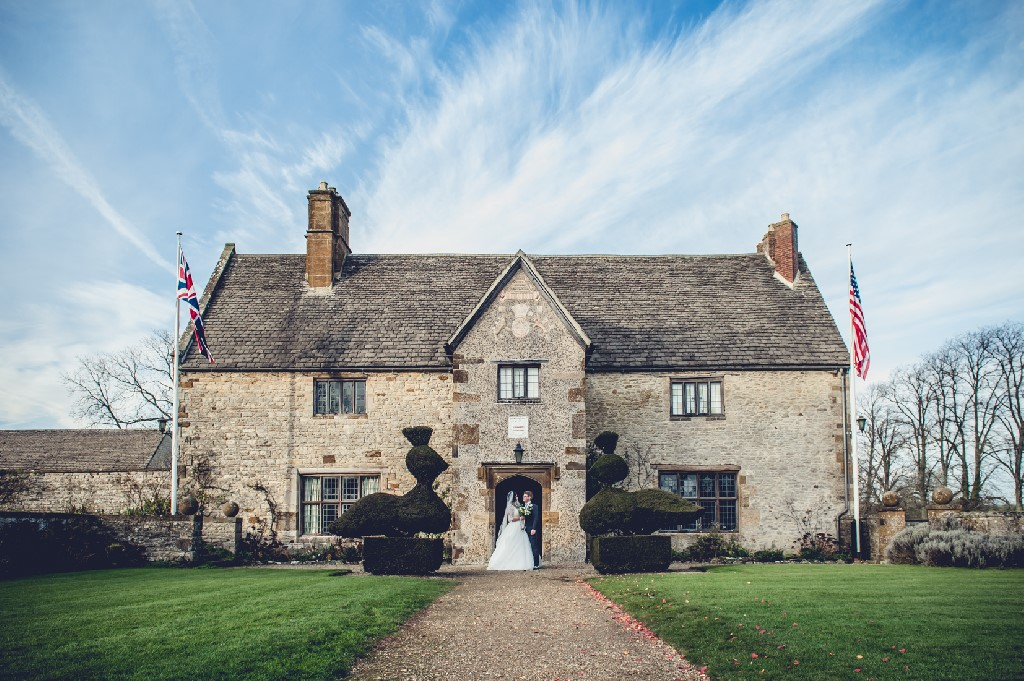 Our wedding at Sulgrave Manor