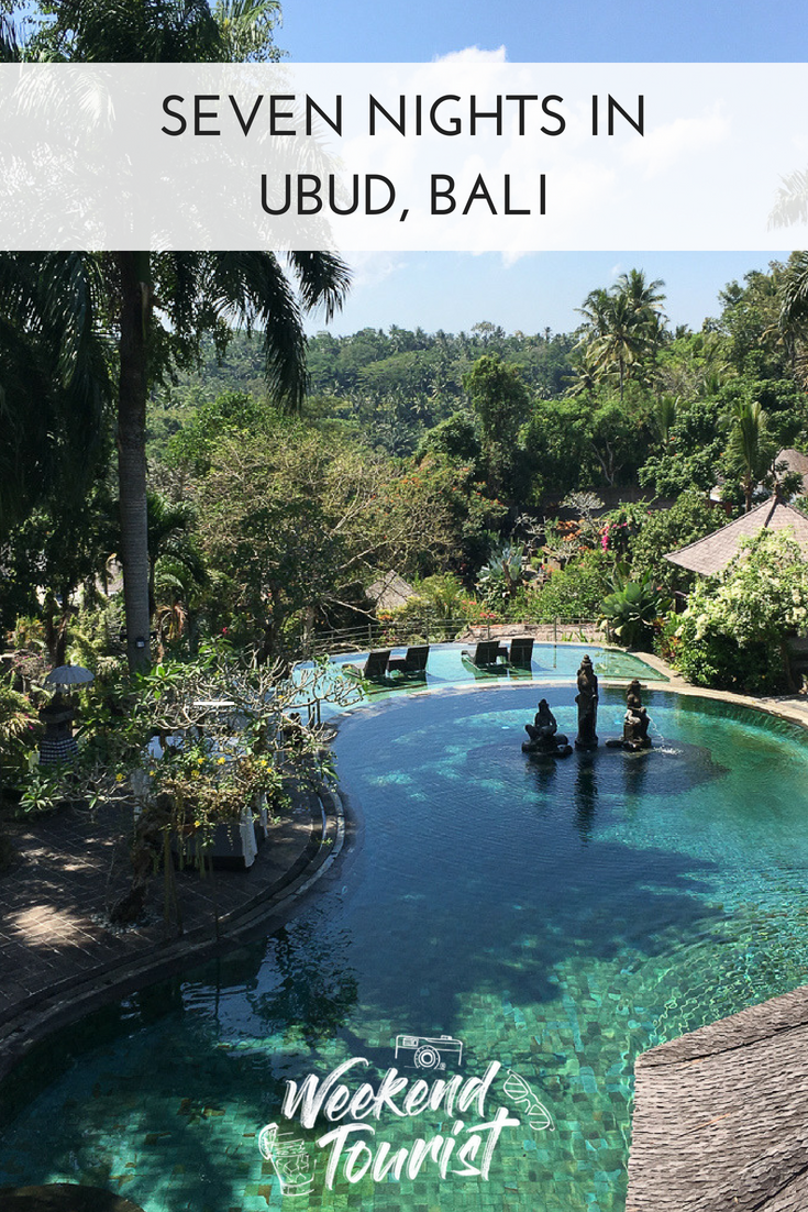 Here's your ultimate guide to seven nights in Ubud, Bali. Our highlights - where we stayed, where we ate and what we did!